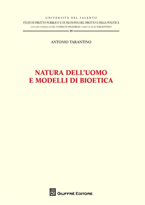 Dep tarantino natura uomo modelli bioetica 9788814212307 for Modelli di caverna dell uomo